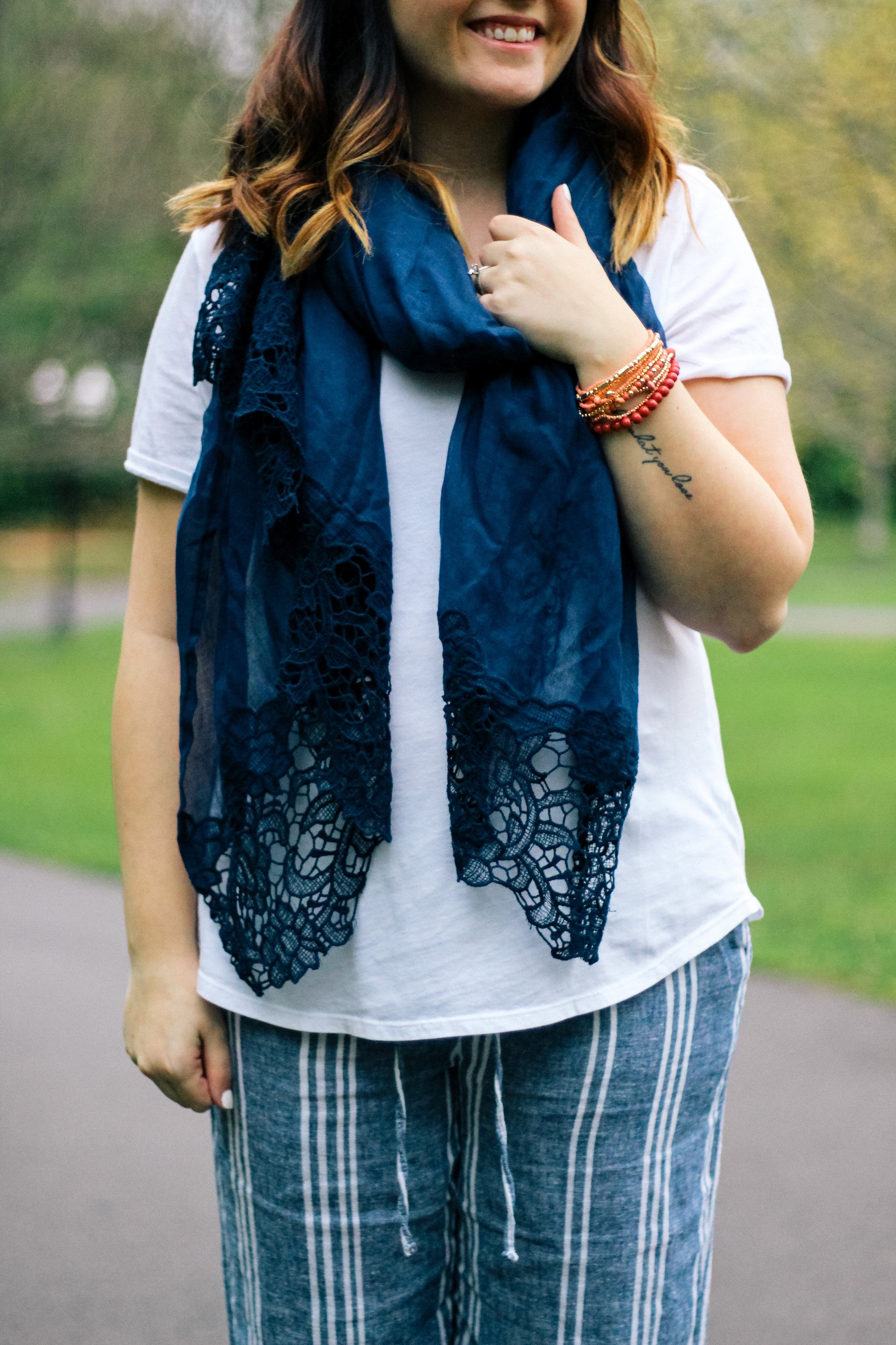 Neo-Nautical With Old Navy via chelceytate.com