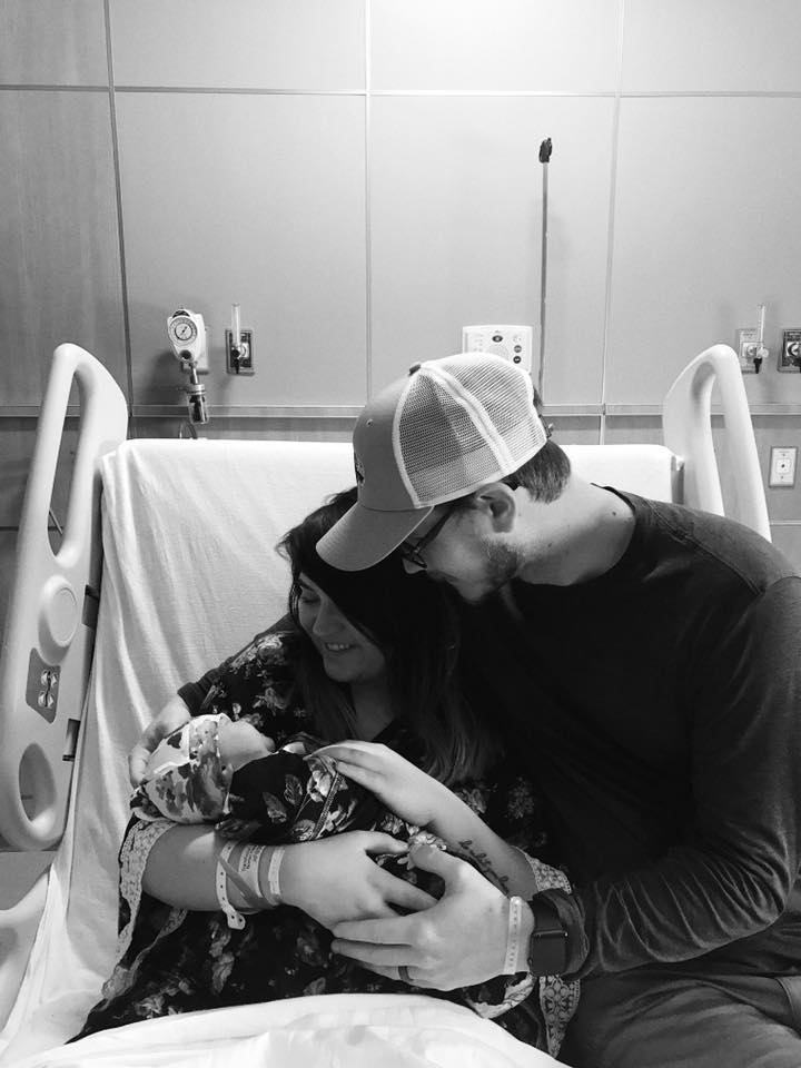 Reflecting on 2017 Baby Girl Birth Story via Chelcey Tate www.chelceytate.com