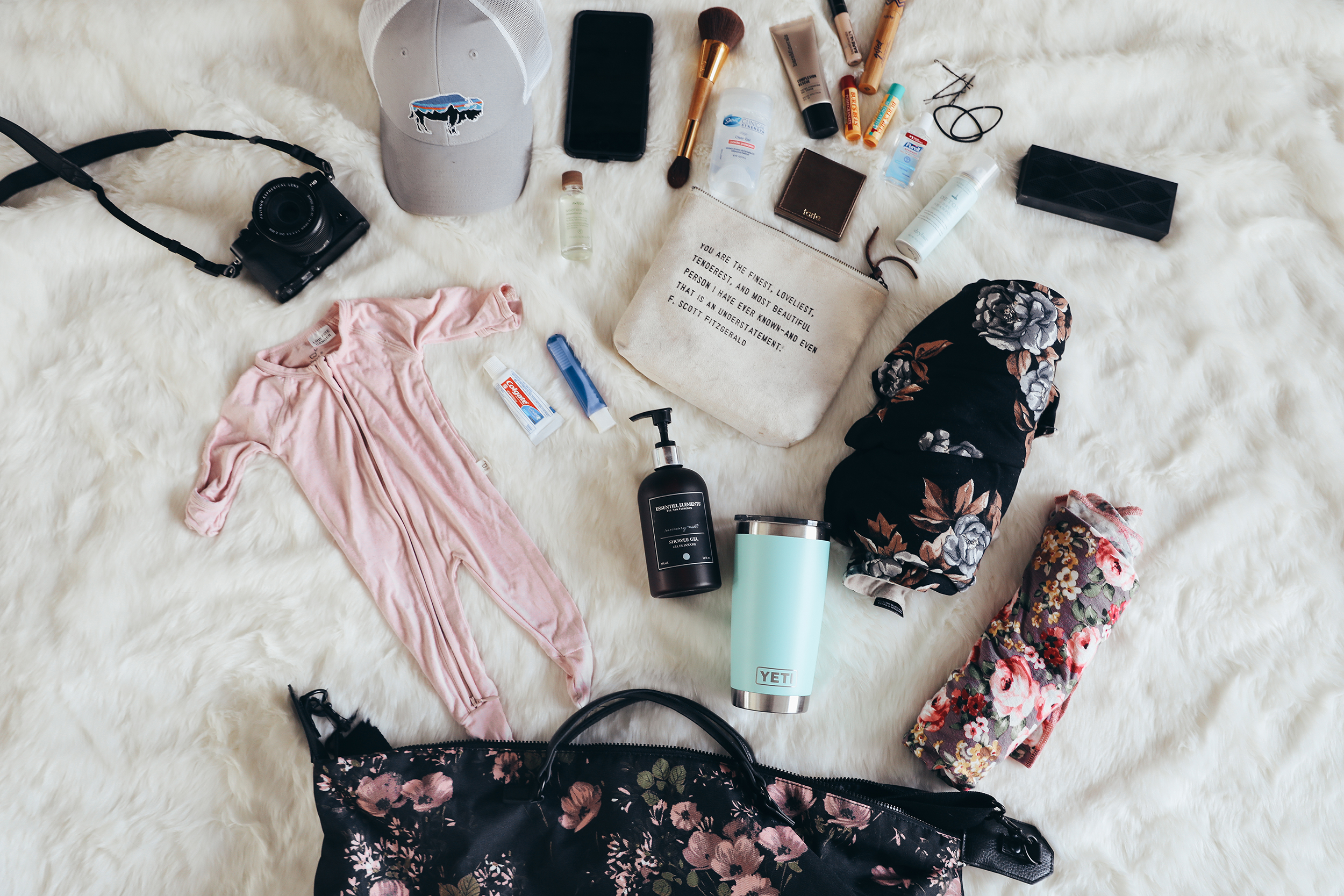 Hospital Bag: What I Actually Needed via Chelcey Tate www.chelceytate.com
