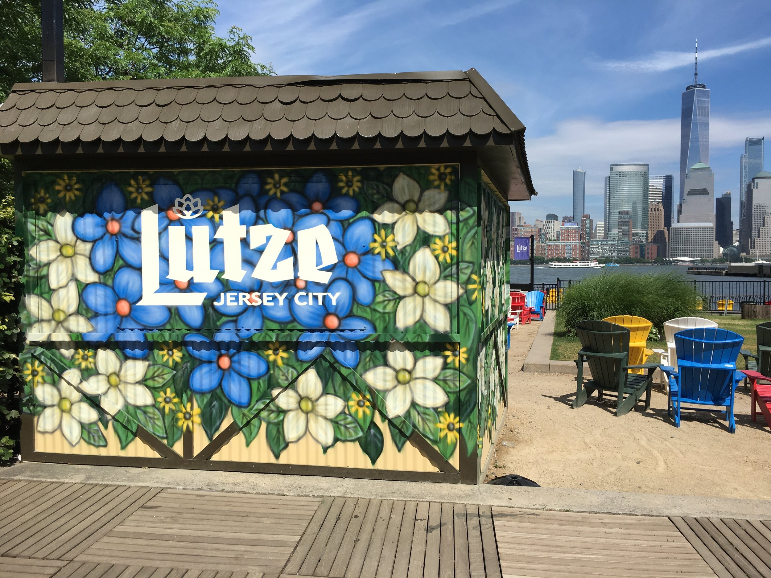 The Lutze Biergarten, Jersey City, 2018