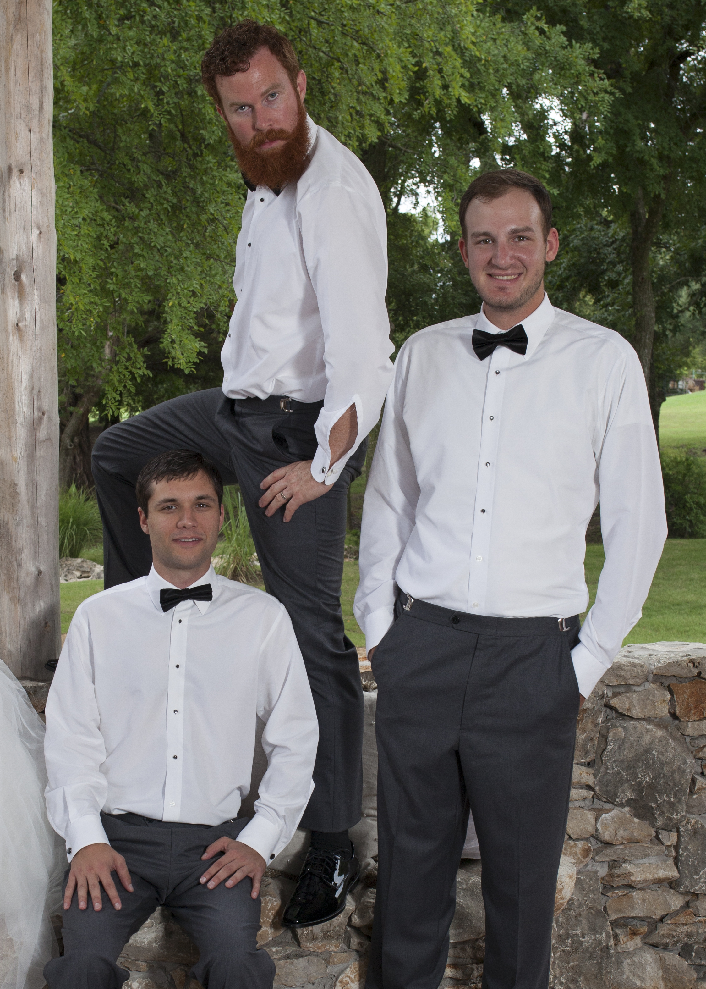 Did I mention silly groomsmen?