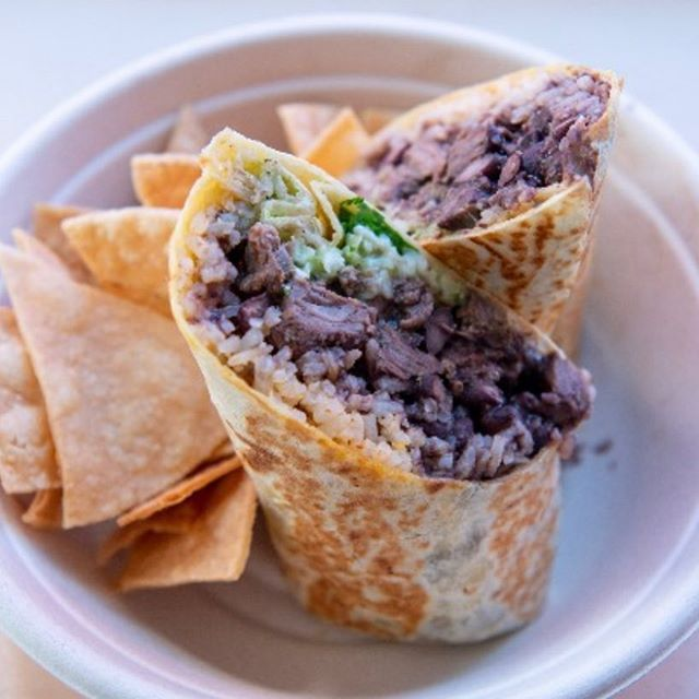 National Burrito Day...today we will feature a California Burrito...Carne, Fries, guacamole and cheese  for 6.00