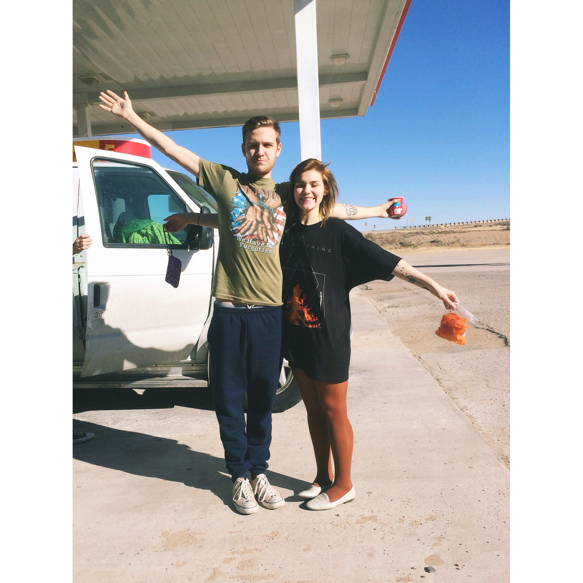 sooo many posts about tour life when we were dating in the archives of the blog.