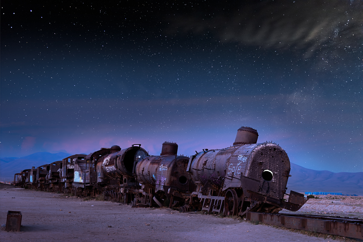 Train to the stars