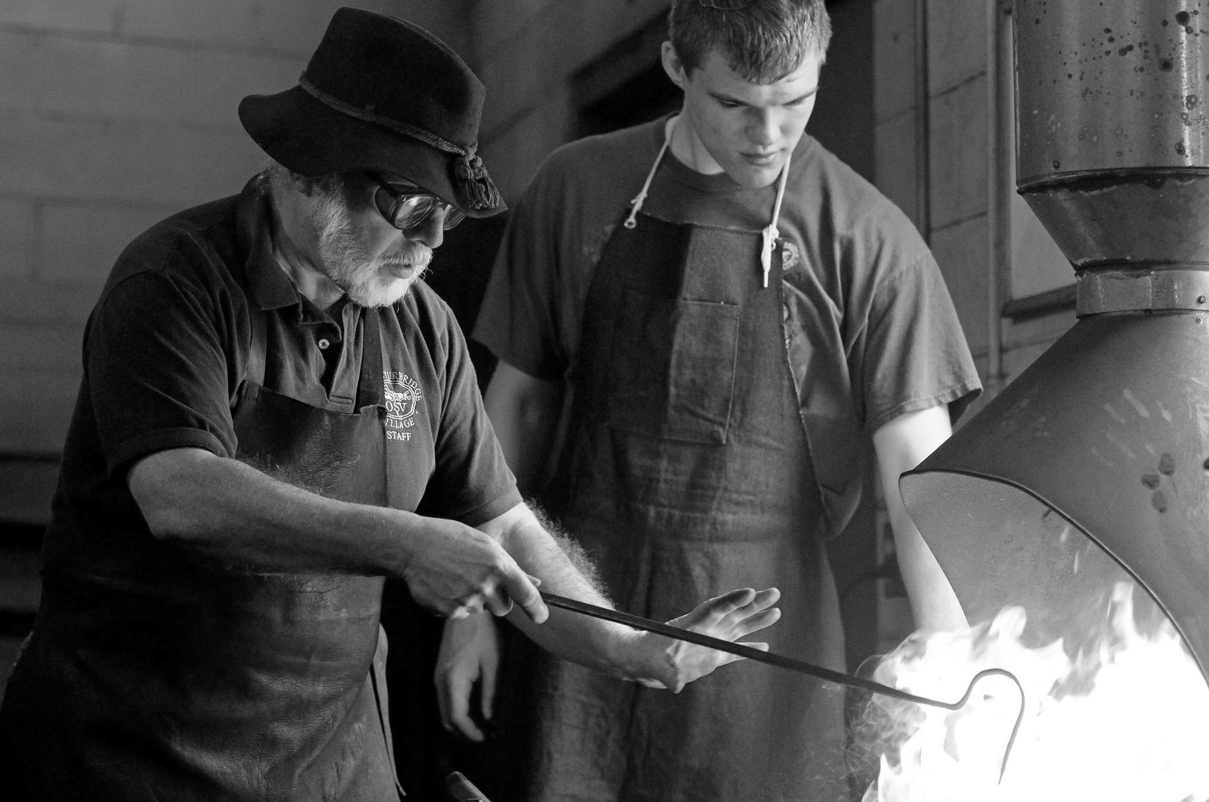 A BLACKSMITH CHANGES A LIFE IN A SINGLE MOMENT
