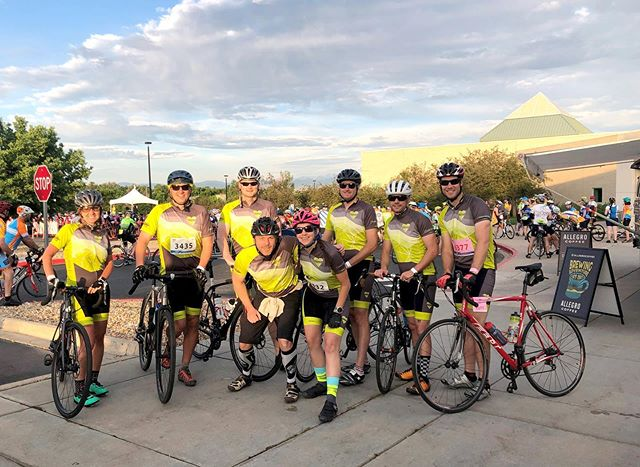 This past weekend, Team Lighthearted raised more than $10,000 toward funding Multiple Sclerosis research & support services that ensure people affected by MS can live their best lives. We doubled our donation & participation from last year's Bike MS Colorado, & hope to do the same next year! @visual_interest