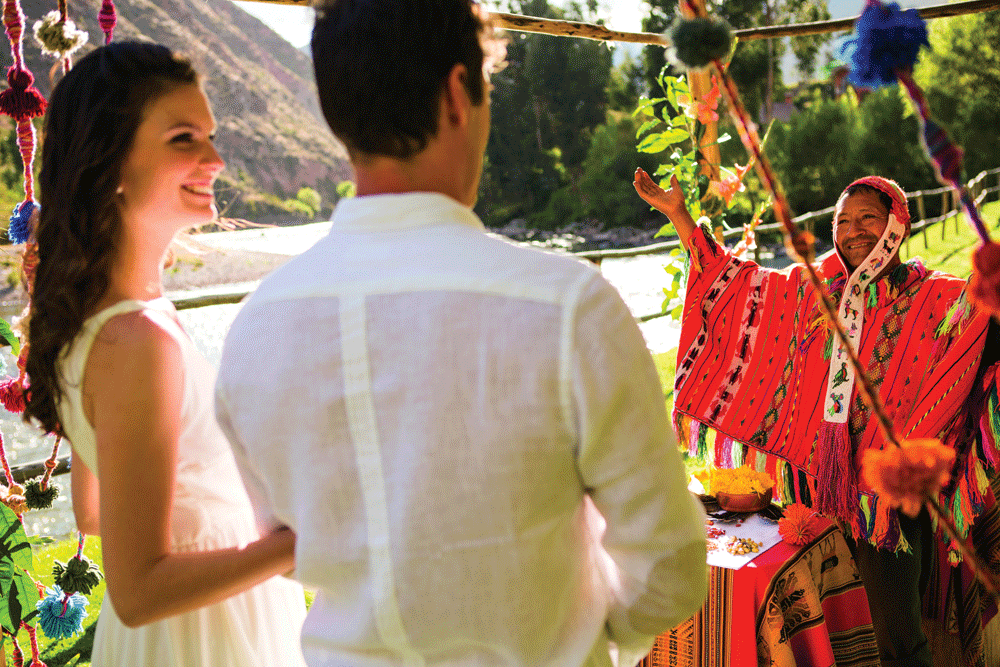Andean Wedding Ceremony
