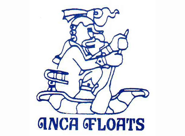 The original Inca Floats logo