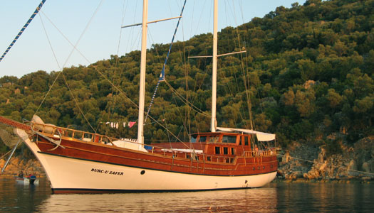 4. Sip sundowners aboard your private gulet on the   Turquoise Coast