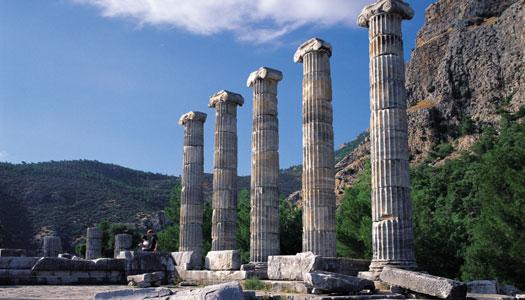 6. Marvel in the splendors of the ancient Greco-Roman world; Aspendus, Priene and Ephesus.