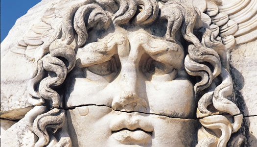 7. Consult the great oracle at  Didyma in the Temple of Apollo  .
