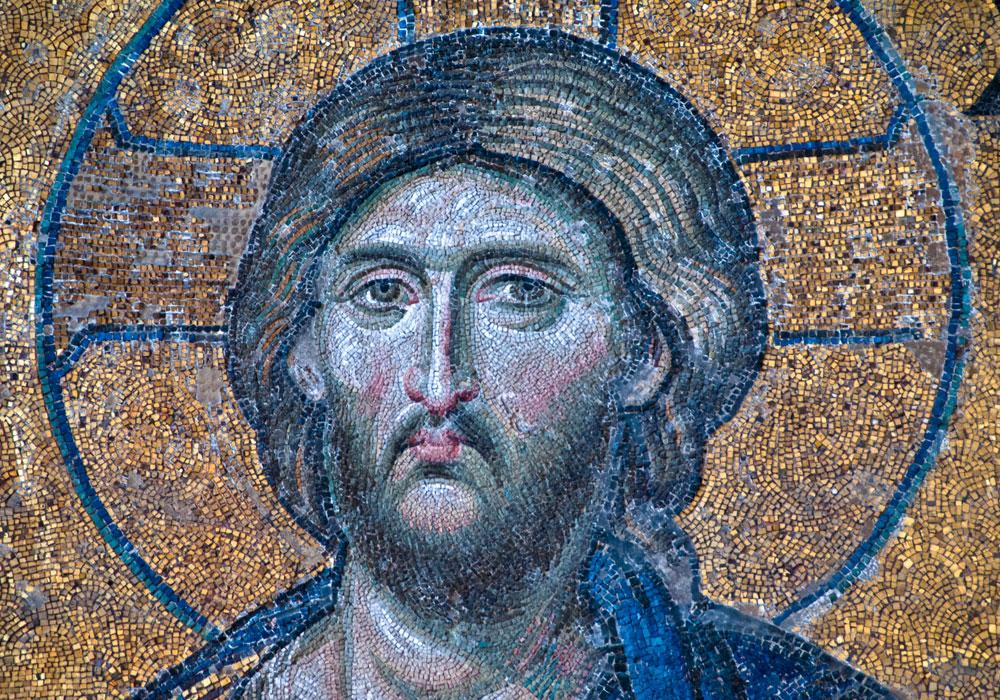 Byzantine Mosaic, Hagia Sofia, Istanbul