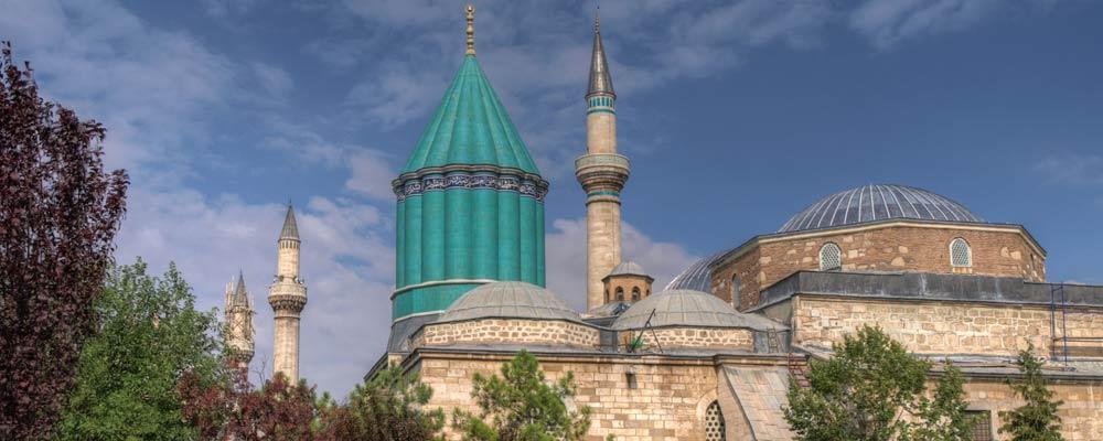 Rumi's mausoleum and Mevlana Museum, Konya