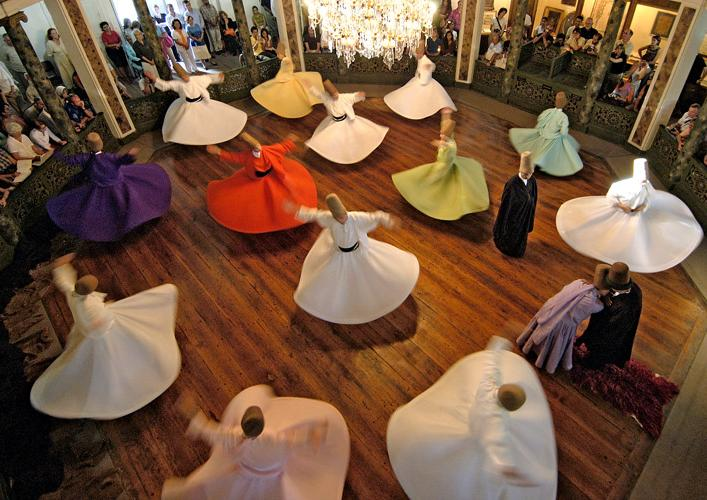 Whirling Dervish Sema, Istanbul.