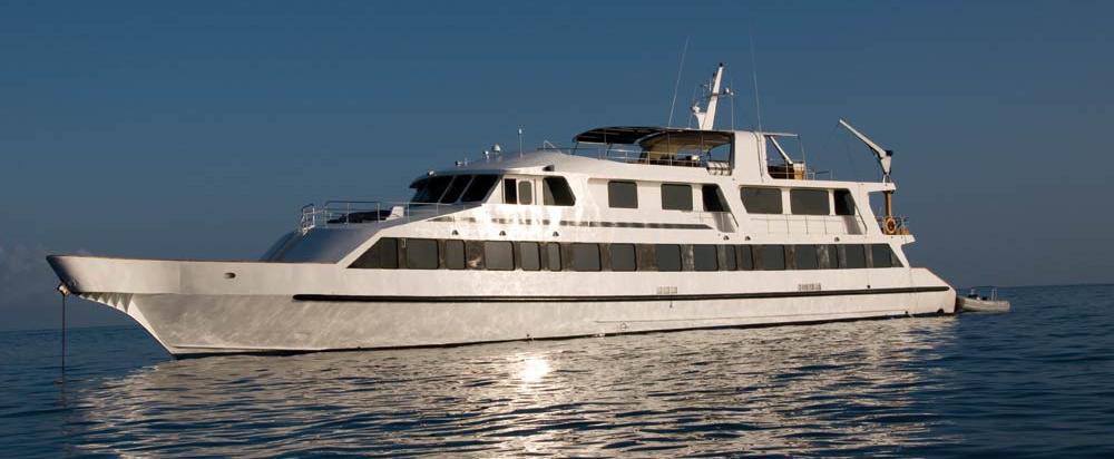 The luxury motor yacht INTEGRITY