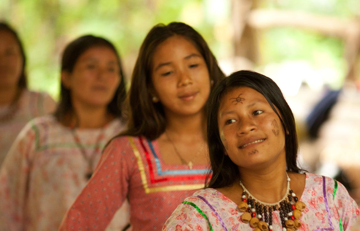 The Kichwa Añagu community share their culture