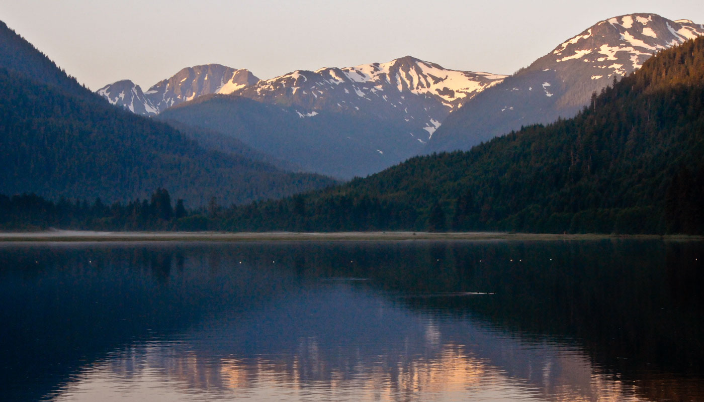 Tongass National Forest in Southeast Alaska.  Photo: Bill Roberson