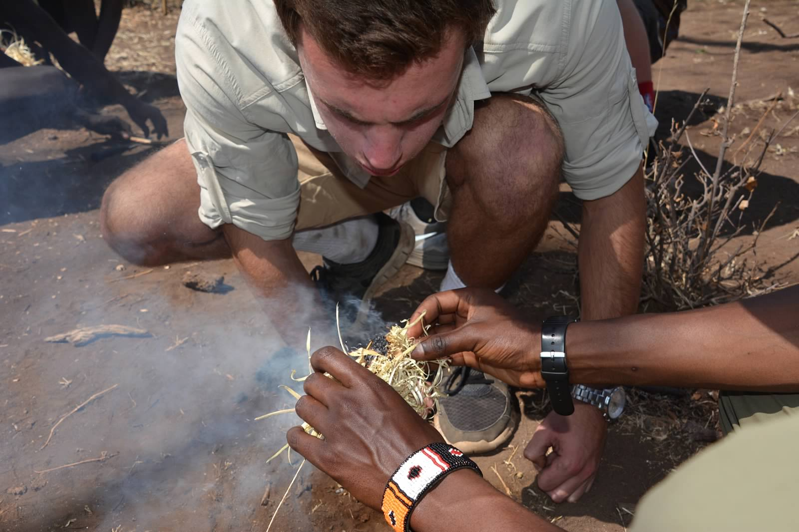 Keeping embers alight with the Hadza