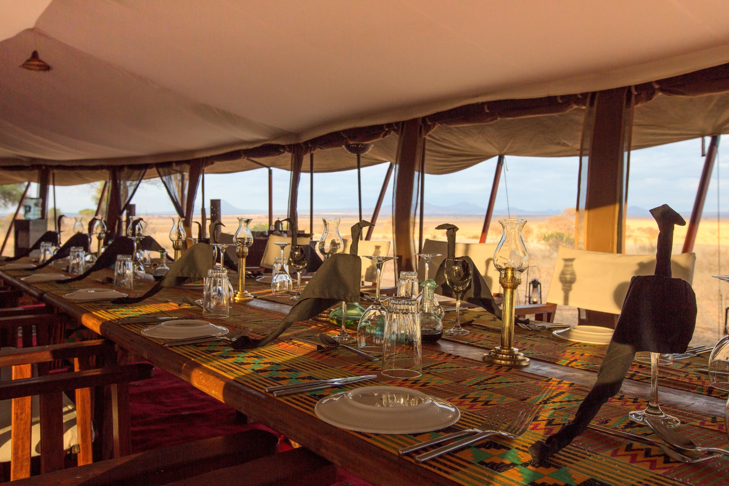 Tarangire Camp - Osunyai Lamarkau Dining view.jpg