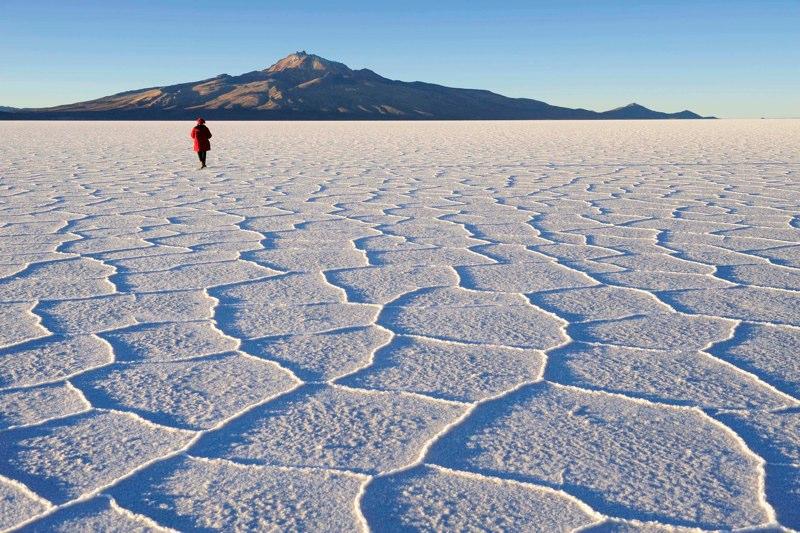 Bolivia's famed Salar de Uyuni.  Photo: Katsuyoshi Tanaka