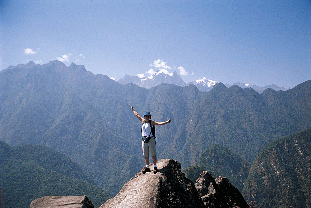 Celebrate your hike to the top of Huayna Picchu