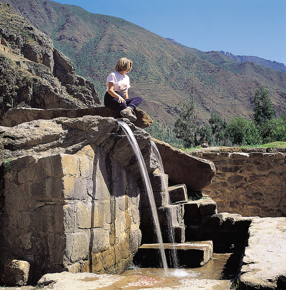 Ollantaytambo baths