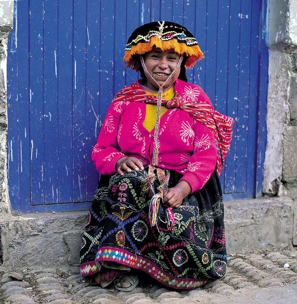 Pisac traditional dress