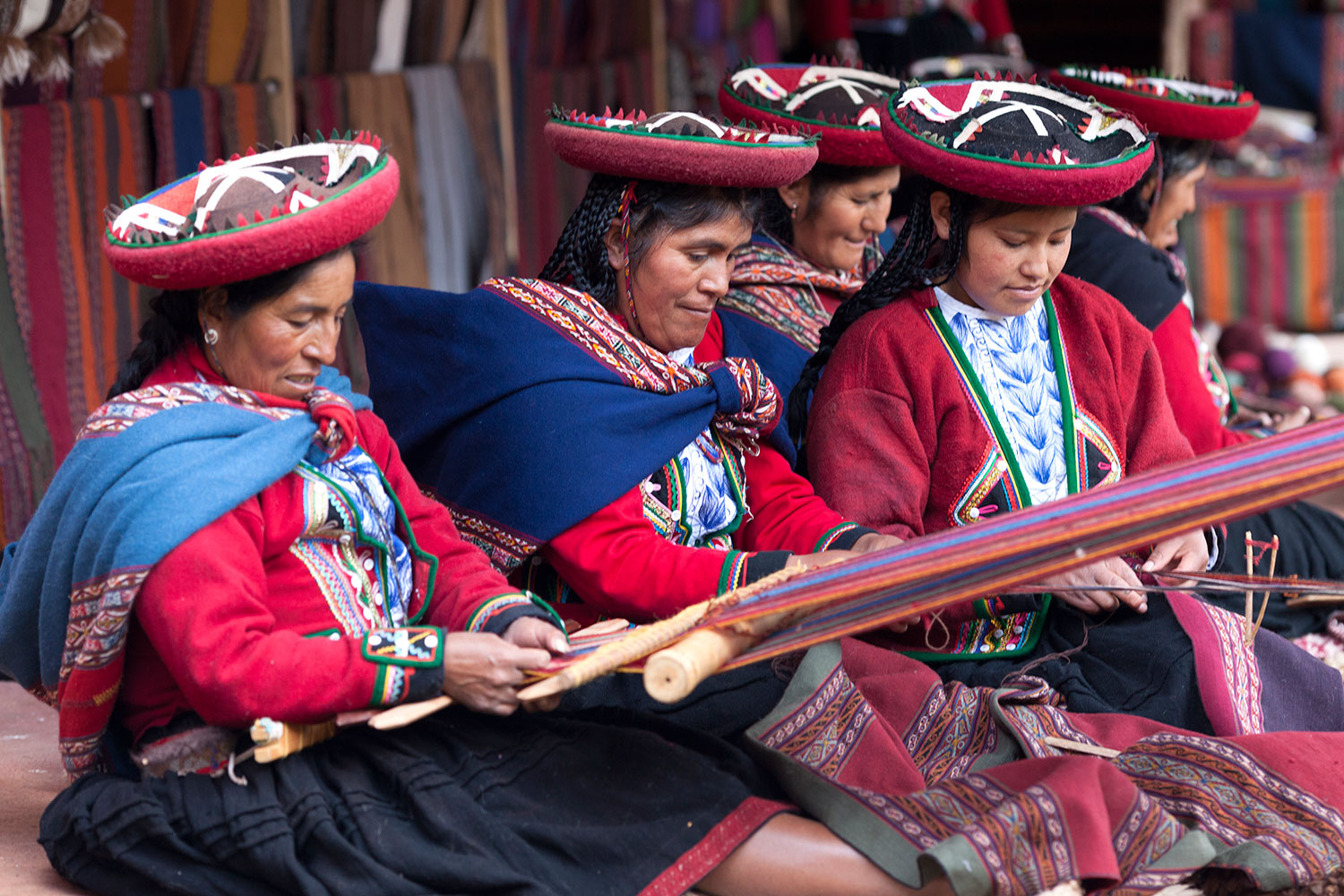 Weavers of Chinchero