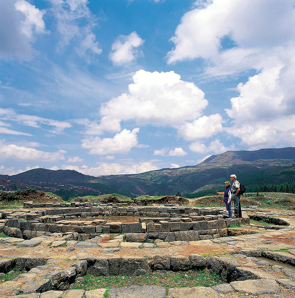 Sacsayhuaman, Eye of the Tiger