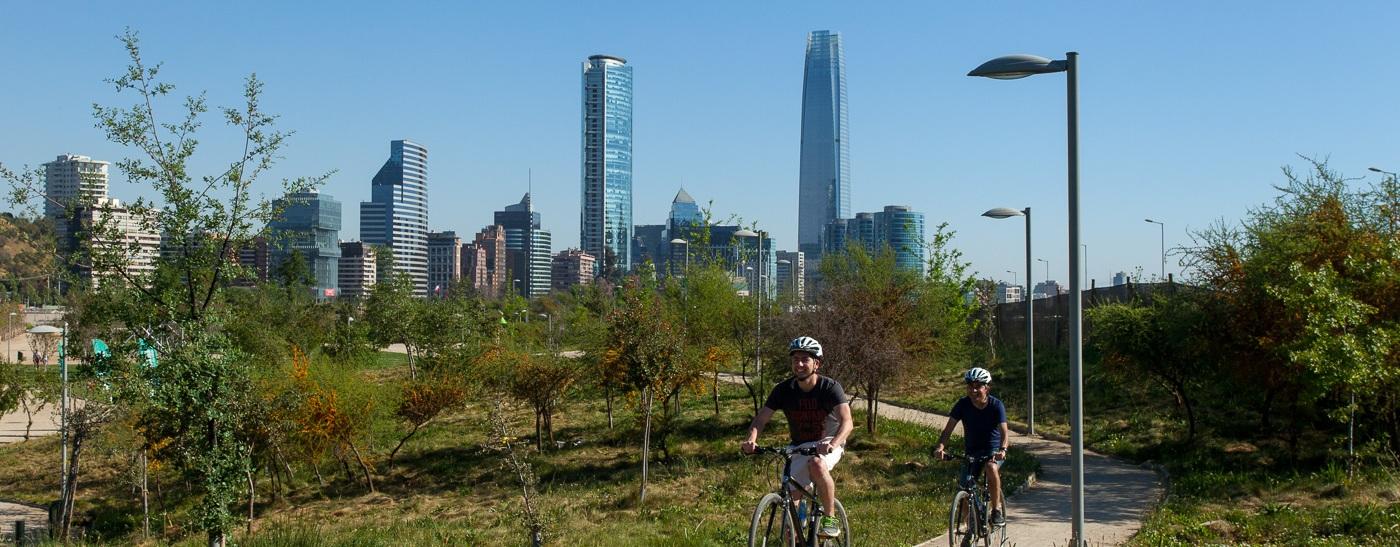 Cycling through Santiago's Parks