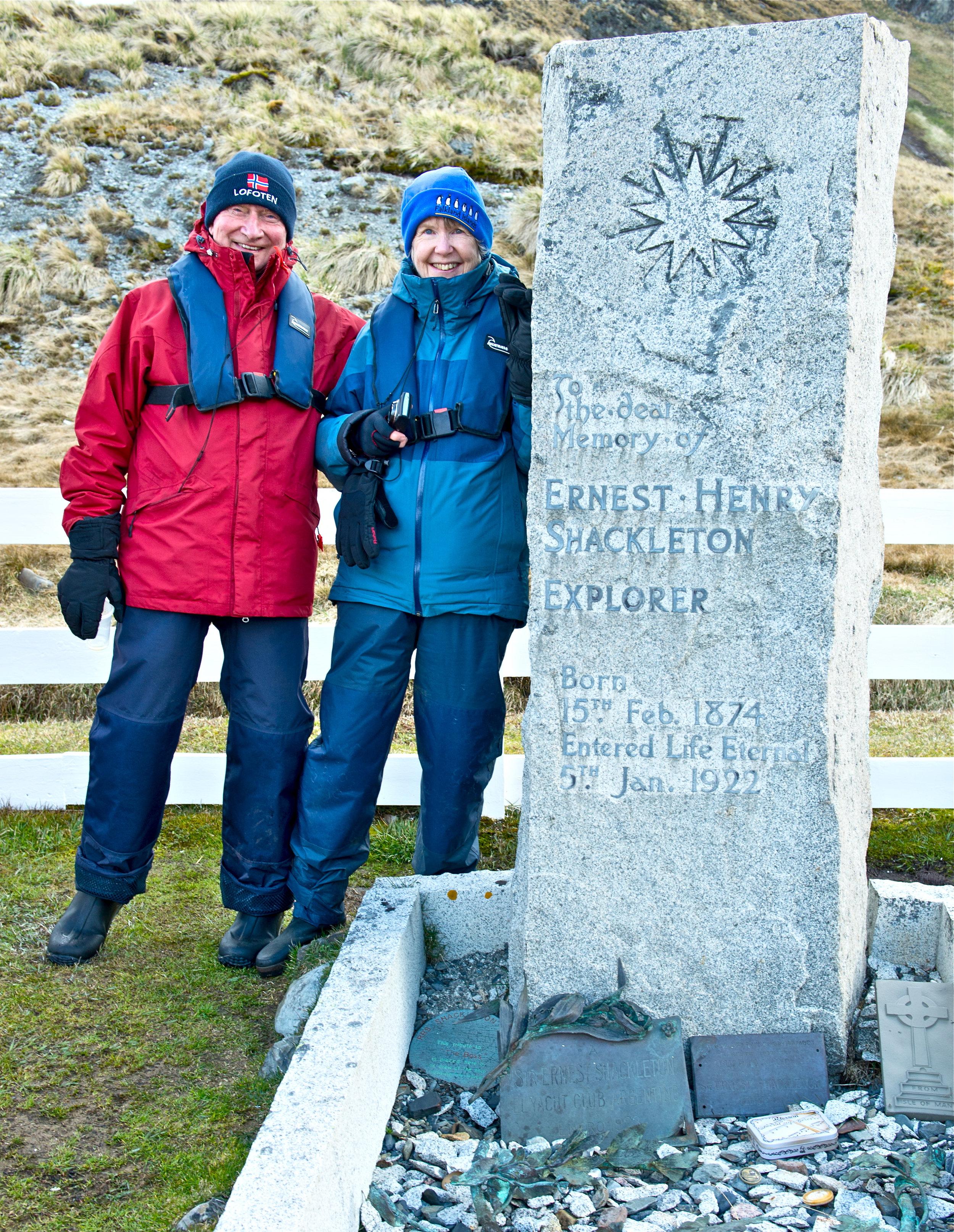 Copy of Shackleton's remains