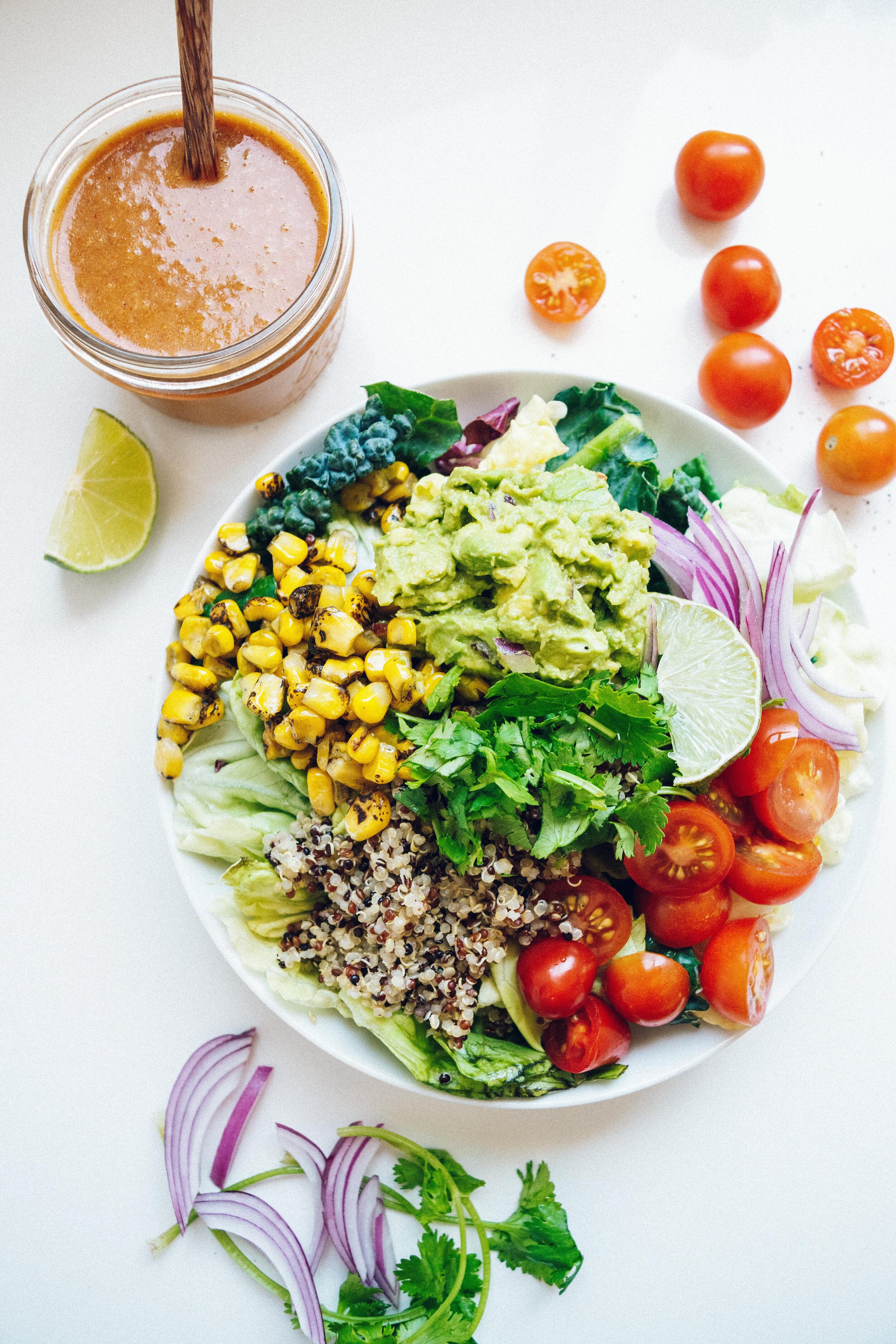 Mendocino Avocado Quinoa Salad Recipe
