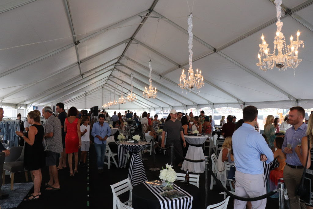 Fans mingling in the VIP tent..jpg