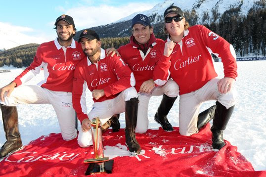 Cartier teammates with the coveted Cartier Trophy.