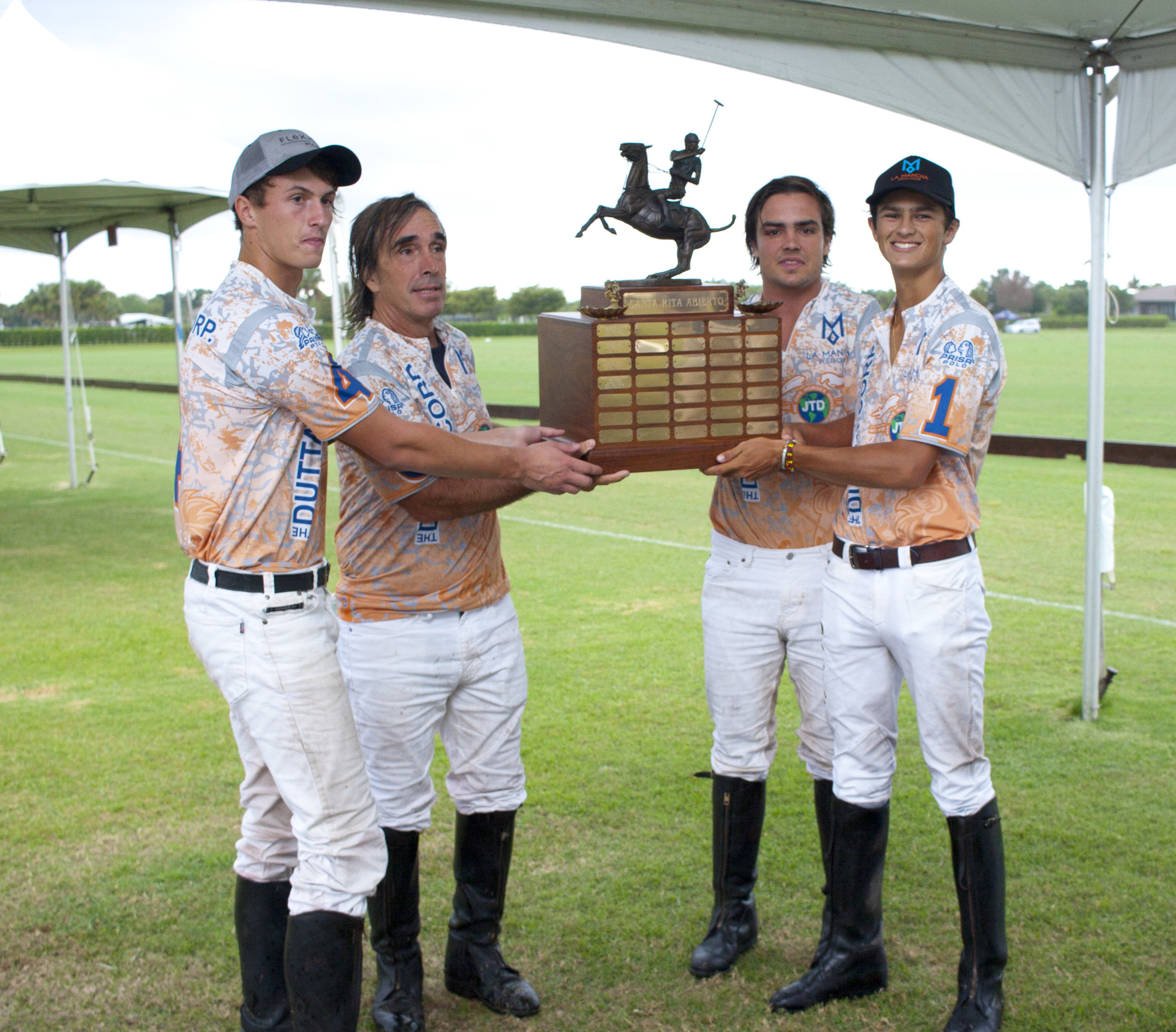 Dutta Corp three-peats Santa Rita Abierto with Alex Webb, Piki Alberdi, Lucas Alberdi and MVP Timmy Dutta.
