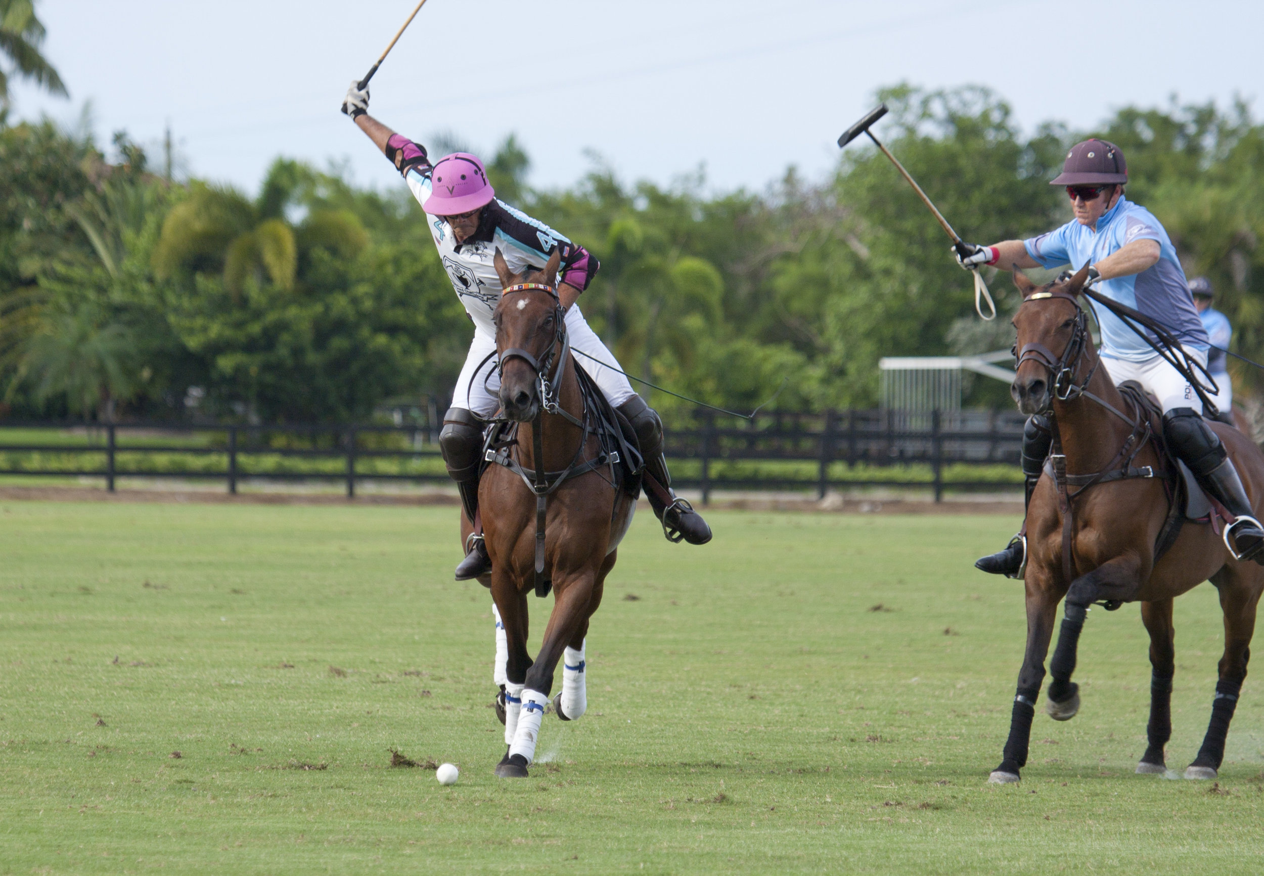 Juan Bollini of Grand Champions goes for the .JPG