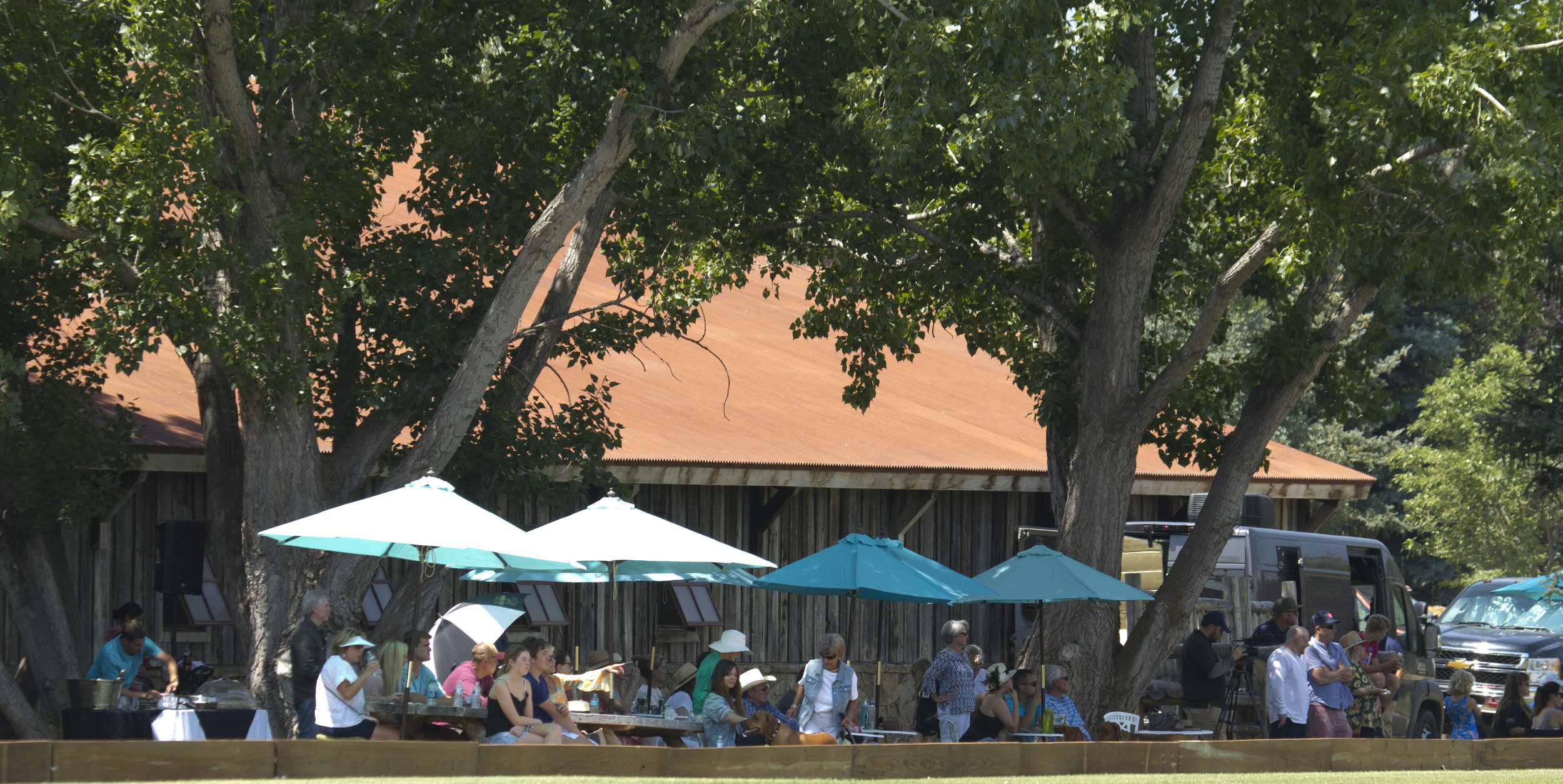 A good local crowd enjoying the polo at A.JPG