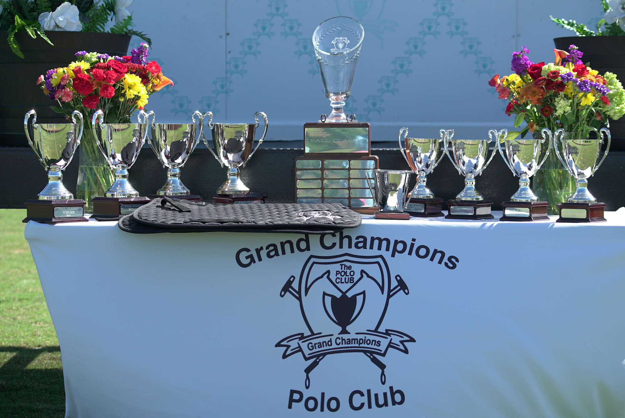 Awards table for the 2018 Fall Classic..JPG