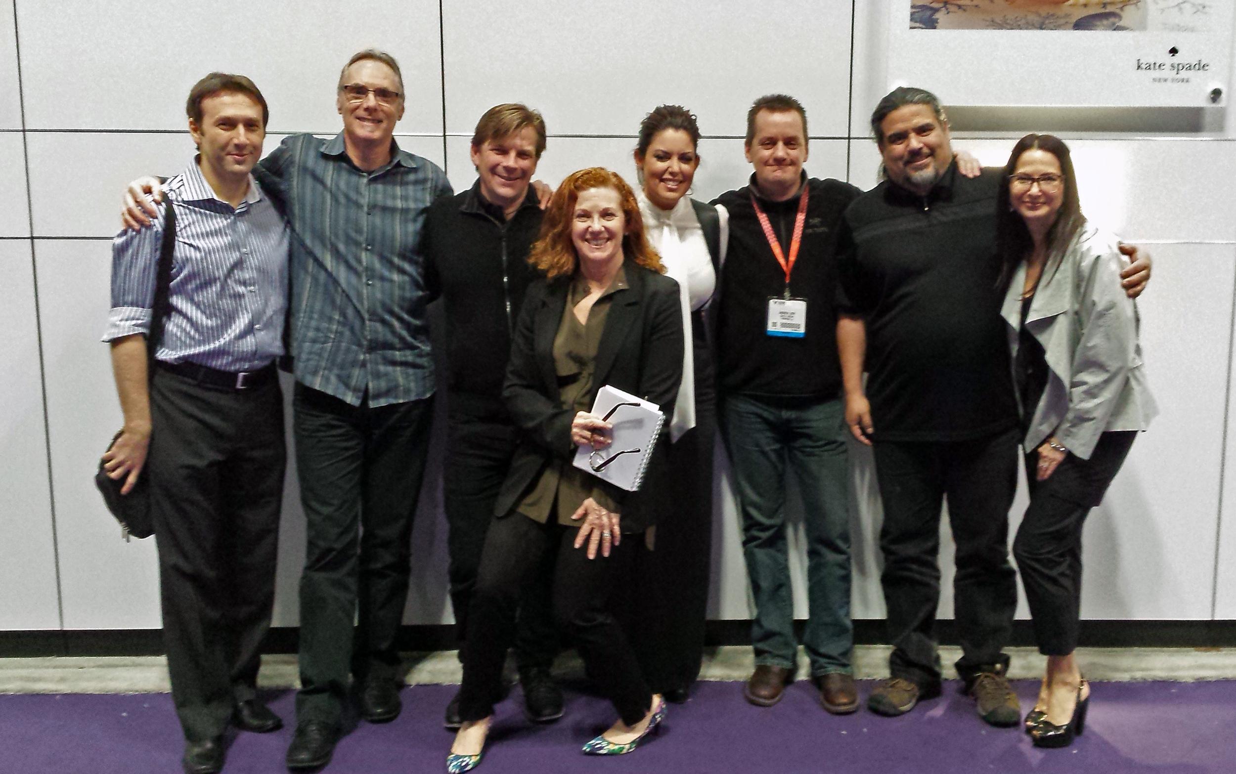 Sparks & CT Crew with Host Bobbie Thomas