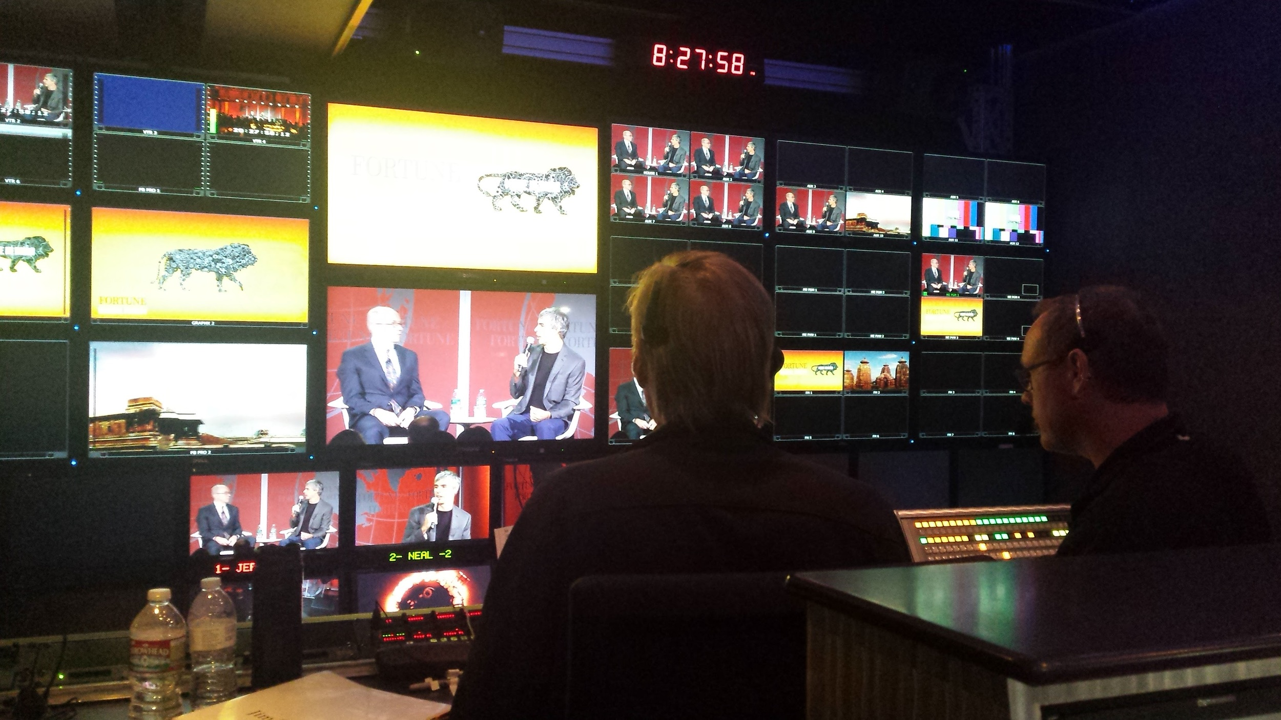 In the Touring TV Truck for Fortune Global