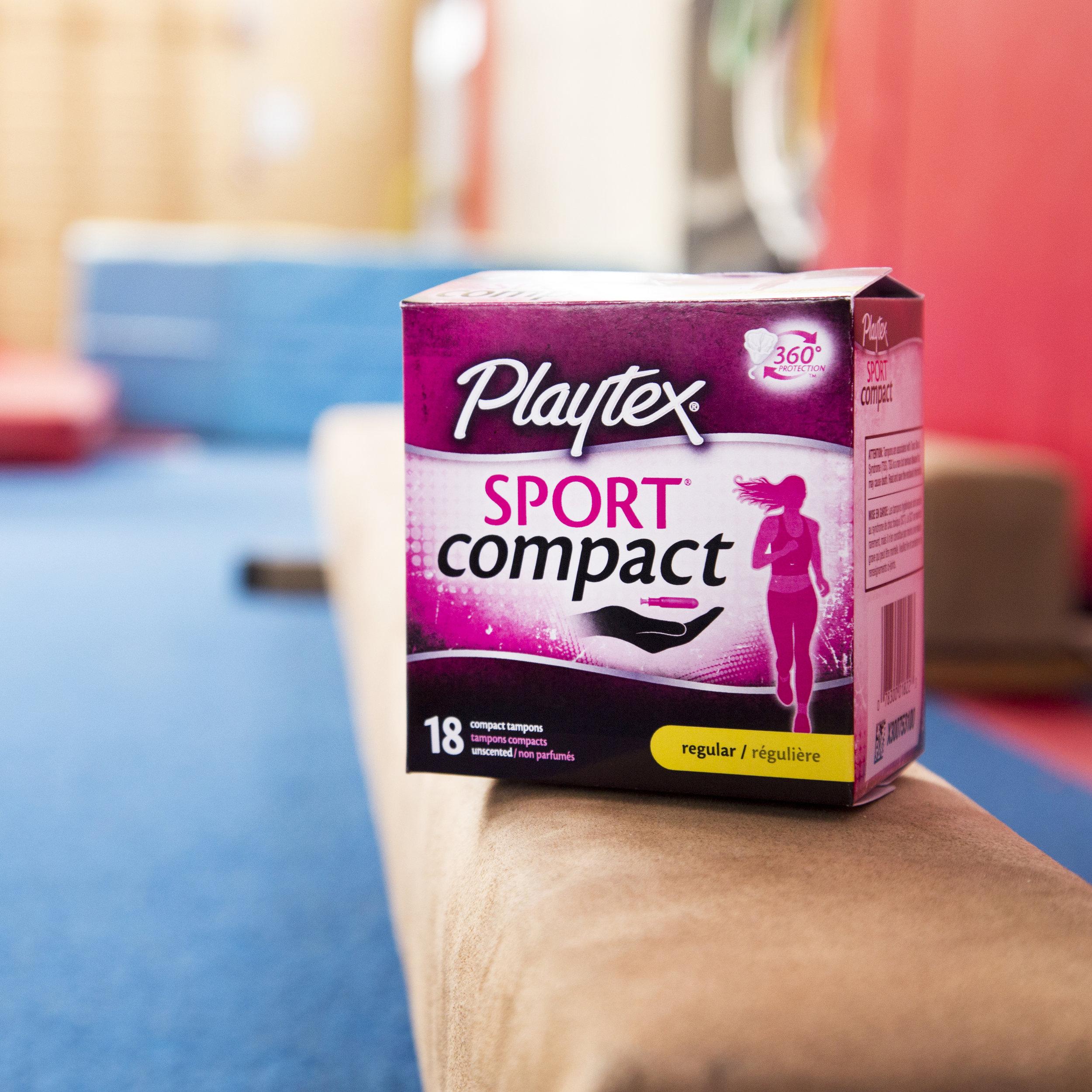 Playtex Sport Digital Ads