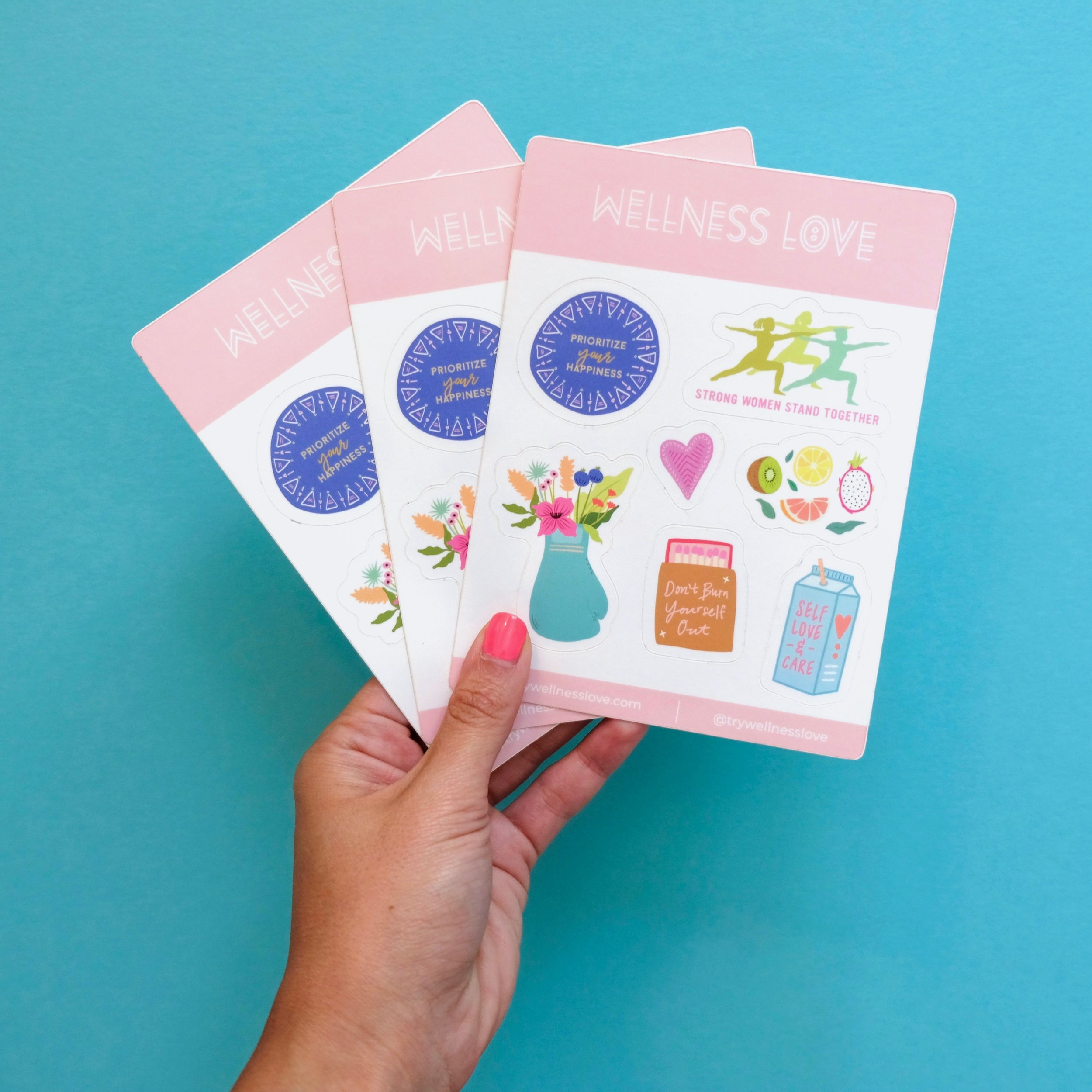 Wellness Love Sticker Sheets Cropped.jpeg