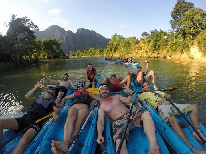 The Vang Vieng family