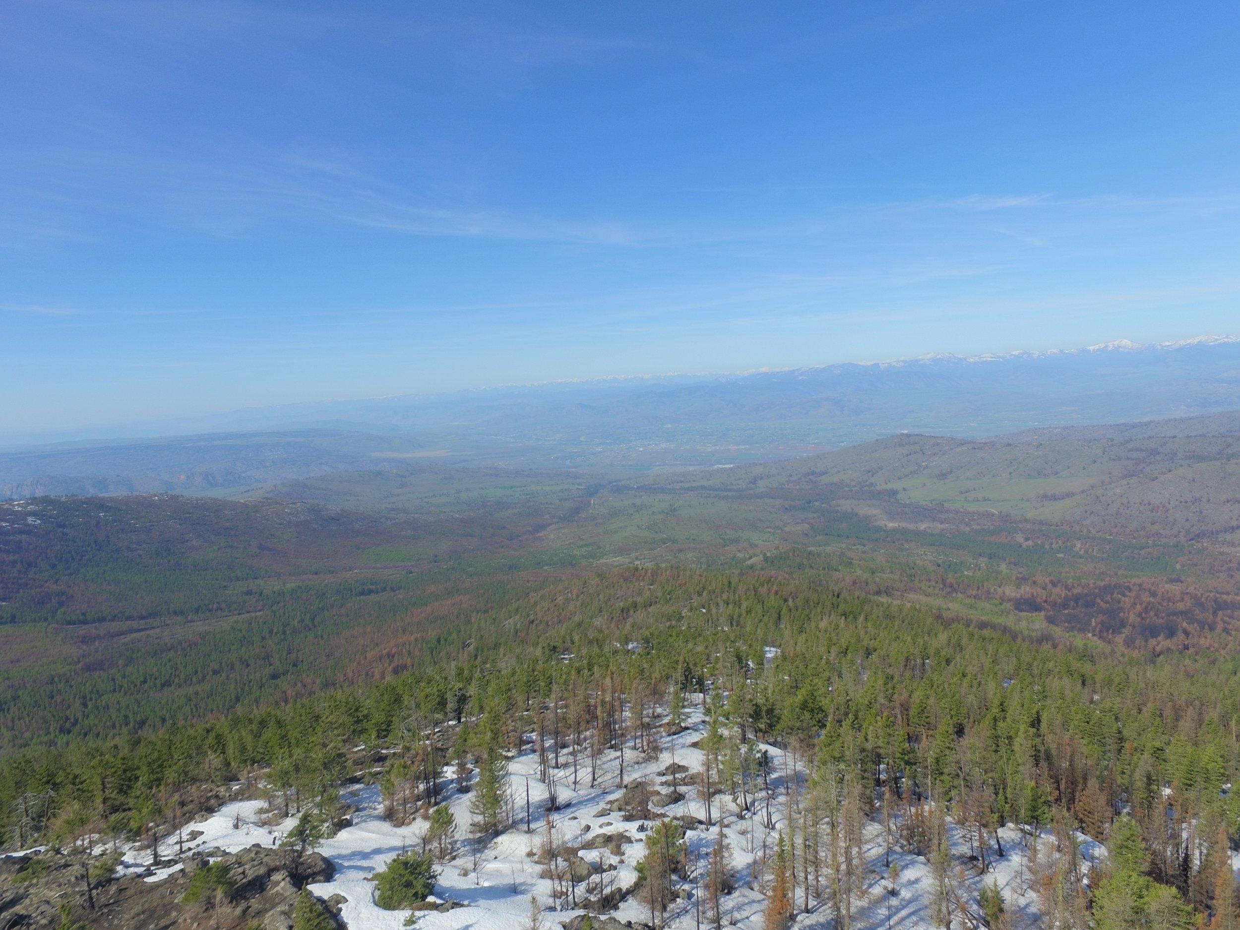 Omak Mt looking to Omak