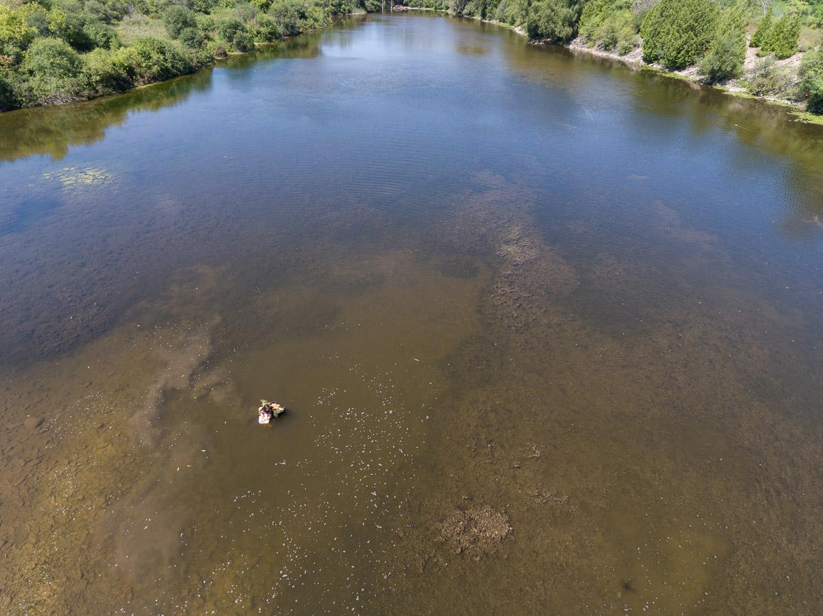 Danie's Crossing of the Eramosa River Photo  by   Brett Forsyth Photography