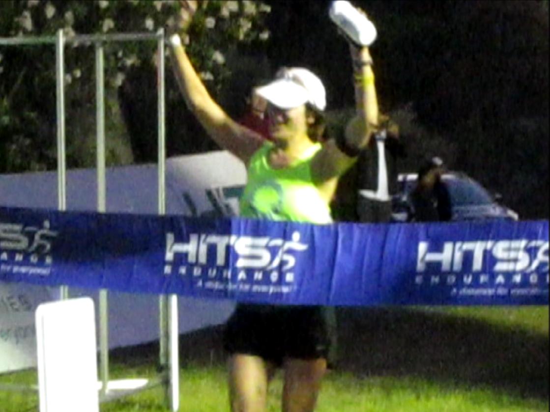 Napa Ironman finish