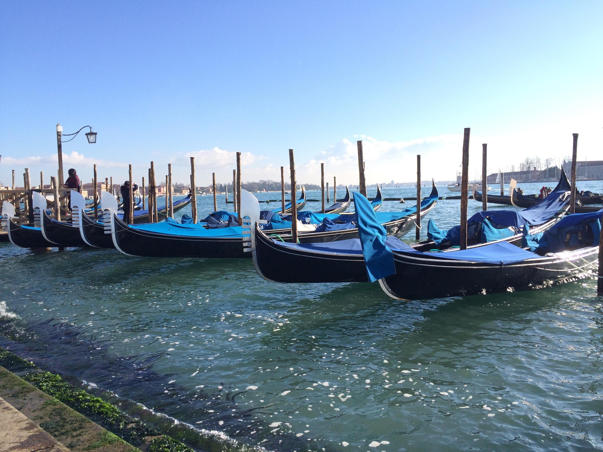 December in Venice, Italy.