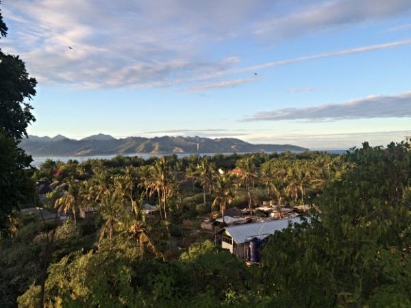 Tropical paradise. Gili Trawangan, Indonesia.