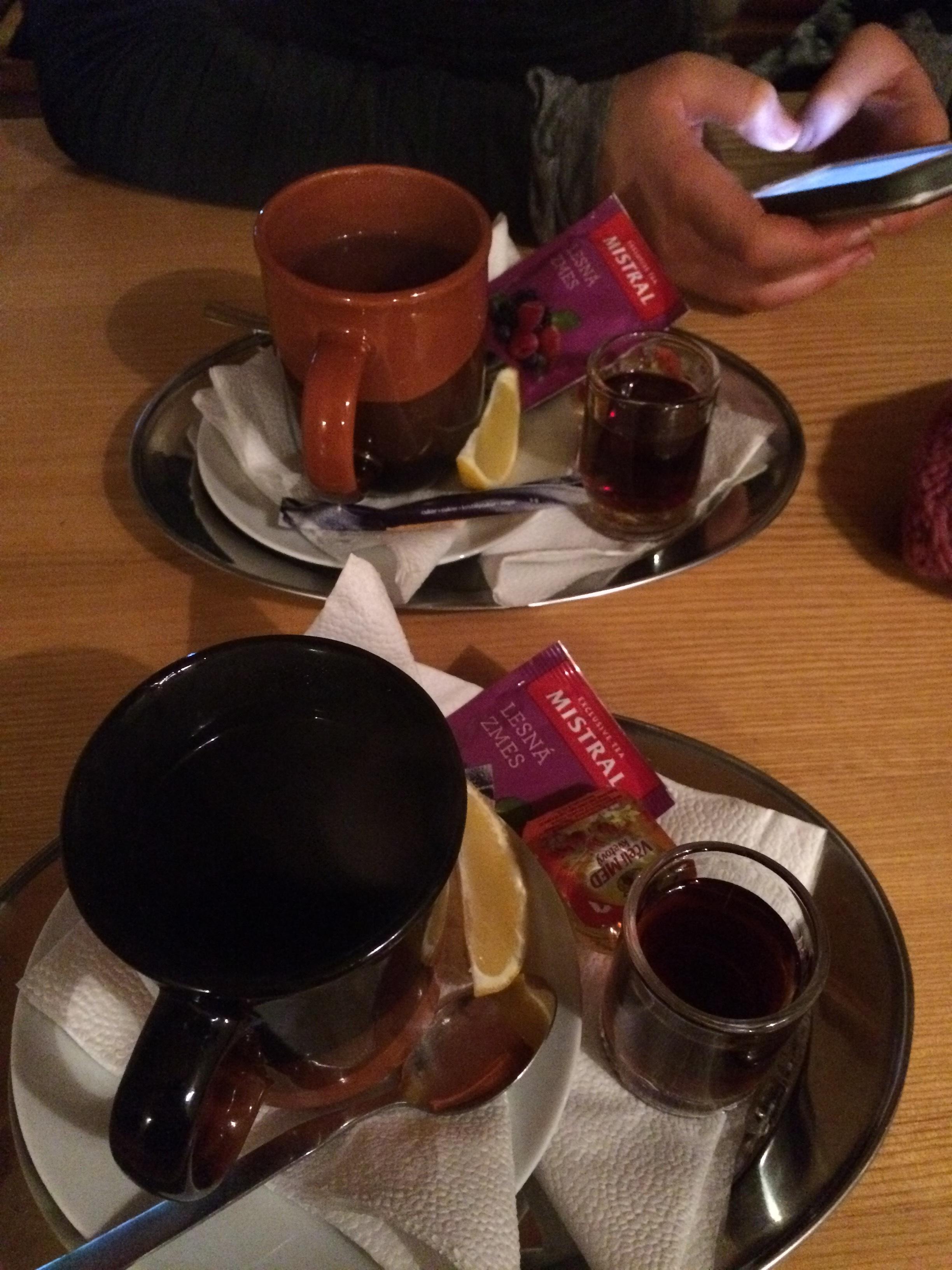 Tea, the Slovokian way.