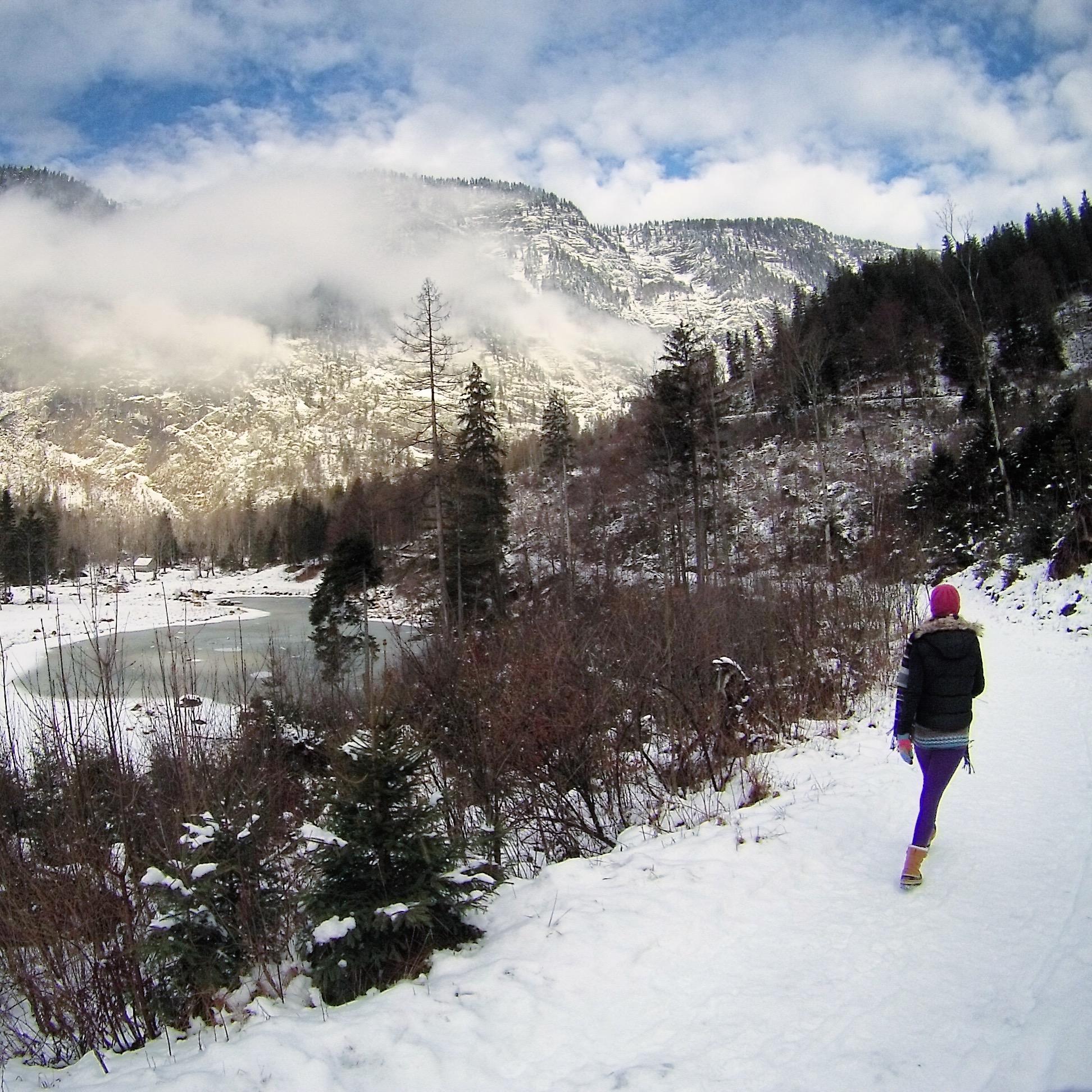 Hiking around Altausse, Austria